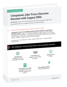 LDNA Success Story landing page graphic - AireHealth