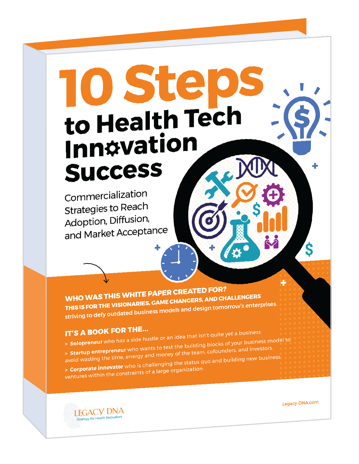 10 Steps to Health Tech Innovation Success - Book Cover