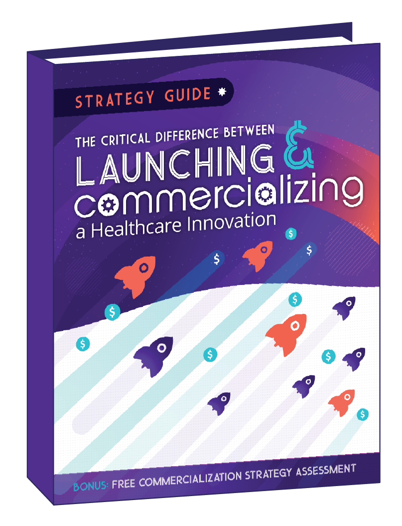 Launch vs Commercialization Guide Cover